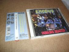 EXODUS -FABULOUS DISASTER- VERY HARD TO FIND RARE ORIGINAL CD JAPANESE 1ST PR