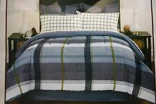 EnvisionStudio Reversible Comforter Set/ Pillow Sham/ Sheet set/ Bedskirt 8Pcs Q