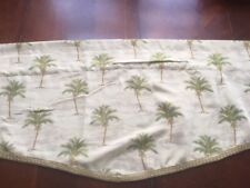 Palm tree Tapestry Valance Rod Pocket Window Valance