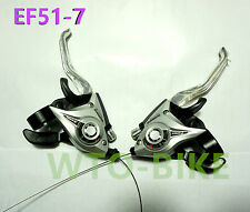 Nwe SHIMANO MTB Bike Brake Levers Set Brake Shifter Shift 3x7 Speed ST-EF51-7 0