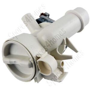 Hoover Bomba Desagüe Lavadora Completo Con Carcasa Del Filtro 41019104 41042258