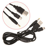 2-in-1 USB Charge Data Cable Cord Transfer Power Charging for Sony PSP 2000 3000