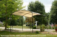 ShelterLogic 9x16 Monarc Canopy Replacement Top Cover Carport 803676 25866