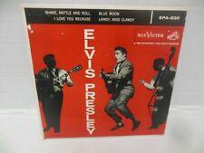 New listing ELVIS PRESLEY nr mt 45 rpm ep SHAKE RATTLE & ROLL w/pic sl