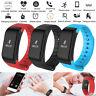 F1 Bluetooth Smart Bracelet Sport Watch Step Calorie Counter Tracker Phone Mate