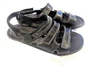 ECCO Breeze 3 Ankle-Strap Sandal, 40 Euro - EUC Black