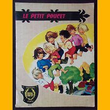Collection Mes Premiers Contes LE PETIT POUCET années 1960-1970