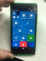 nokia lumia 735 (O2- network)  mobile phone faulty