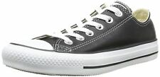 Converse Chuck Taylor All Star Black White Lo Unisex Leather Trainers