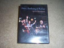 Peter, Bethany & Rufus: Spirit of Woodstock (DVD, 2008) music tv show
