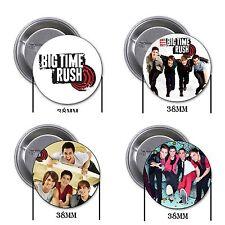 Big Time Rush - 4 chapas, pin, badge, button