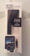 New Retro Handset For Mobile Phone Hype Black NIB Iphone I Phone Apple Ipad Hype