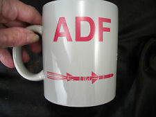 mug cup ADF missile system military B17 bomber government  coffee tea plane jet