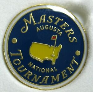 1 - 2021 Augusta MASTERS BLUE BALL MARKER - NEW