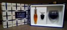 Vivid By Liz Claiborne Three Peices Set (Mini Perfume, EDT & Candle)