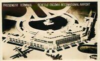 Birdseye Passenger Terminal 1949 Seattle Tacoma Washington RPPC Postcard 11880