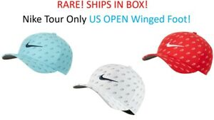 PRICE DROP! FREE SHIP RARE Nike US Open Winged Foot Fitted Hat CK2758 Classic 99