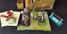 Fleischmann Live Steam Engine - Antique Tin Toy Made in Western Germany 122/4
