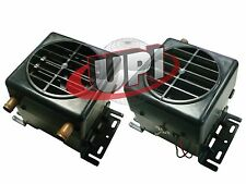 12 VOLT ALL IN ONE UNIVERSAL COMPACT MINI HEATER HOT ROD RATROD