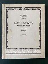 Prokofiev: Romeo and Juliet suite no. 2 (pocket score)