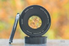 VIVITAR Telephoto Macro 90 mm f 2.8 - Canon FD mount Objectivement F. DSLR adaptable