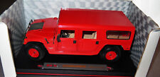 6718:MAISTO HUMMER Station Wagon, 1:18, rot, in OVP.