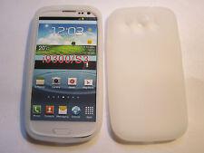Clear Semi-Transparent Samsung Galaxy S3 SIII S III i9300 Silicone Gel Full Case