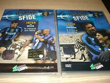 OPERA COMPLETA 2 DVD LE GRANDI SFIDE INTER VS MILAN JUVENTUS BIG MATCH