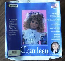 Dianas Treasures Charleen with Brown Eyes Vinyl Collector Doll Kit 1996