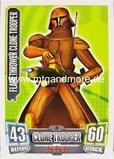 FlameThrower CLONE soldat #049 - Force Attax série 2
