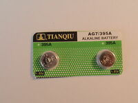 Fastest return -2--Watch Batteries--Ag7 /395A /LR57-LR927-SR57 Fast Shipping-