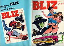 """ BLIZ - ANNO 1°- N° 15 / 30.MAG.1977 "" Settimanale - FAYE DUNAWAY - A. PANATTA"