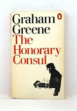 First Print Penguin Paperbacks 1974 The Honorary Consul by Graham Greene used