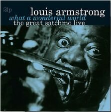 Louis Armstrong - What a Wonderful World-The Great Satchmo Live [New Vinyl] Holl