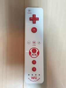 Nintendo Wii Motion Plus Remote Toad Edition RVL-036