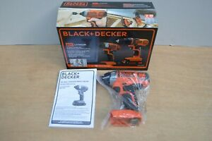 *Bare Tool* New BLACK+DECKER BDCI20 20V Cordless Impact Drill Driver $99 w/Wty