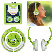 Child Friendly headphones My Doodles Fun Novelty Character soft and comfortable