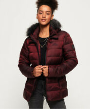 Superdry Womens Taiko Padded Faux Fur Jacket