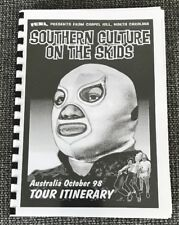 SOUTHERN CULTURE ON THE SKIDS 1998 Collectors Tour Itinerary