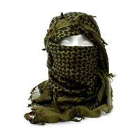 Chèche shemagh vert état neuf Armée Anglaise foulard écharpe keffieh kaki