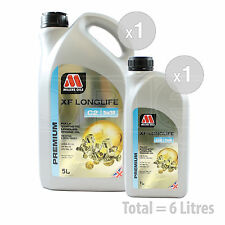 Car Engine Oil Service Kit / Pack 6 LITRES Millers XF Longlife C2 5w-30 6L