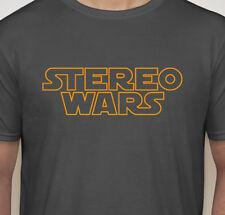 STEREO WARS - Audiophile T-Shirt - Tweak - Star Wars - Hi Fi Stereo