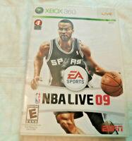 Microsoft Xbox 360-Video Game-(EA SPORTS-NBA LIVE 09)