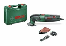 Bosch PMF 220 CE Multiherramienta con maletín 2 hojas de sierra, placa lijadora