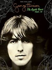 George Harrison The Apple Years DARK HORSE APPLE SCRUFFS PIANO GUITAR Music Book