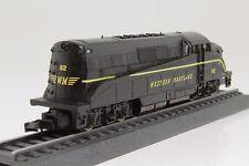 Walthers Western Maryland Spur N Diesellok - läuft