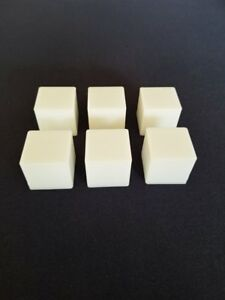 Lot of 6 Don't Break the Ice Replacement Ice Cubes Tiles Blocks Set