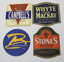 Coasters Lot Of 4 Beer Assorted Brewmania Stones, Campbell's Babycham Collectabl