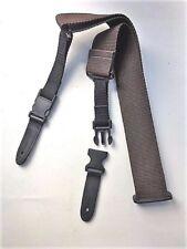 Cliplock Gitarrengurt marron foncé Guitar Strap Clip Lock