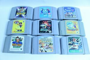 Nintendo 64 Lot of 9 retoro games N64 japanese version JAPAN  3